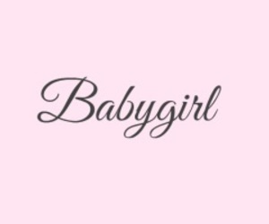 pink, babygirl, and header image