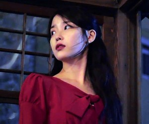 aesthetic, korean, and iu image