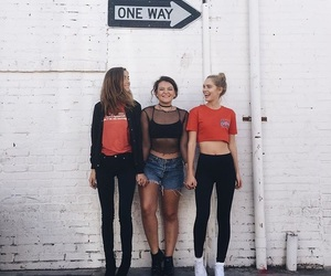 models, brandy melville, and friends image