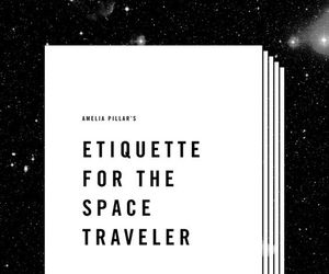 art, quotes, and space image