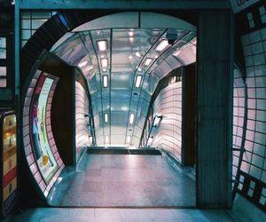 architecture, cyberpunk, and futuristic image