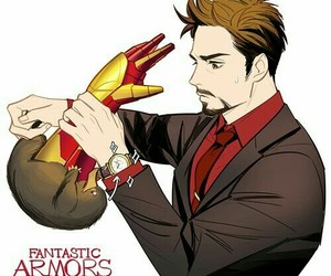 iron man, fantastic beasts, and niffler image