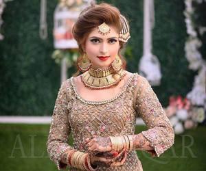 bride, hindi, and wedding image