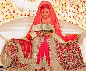bride, hindi, and wedding image