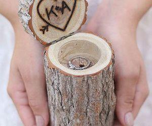 diy, engagement, and romance image