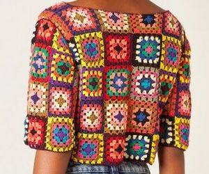 colors, croche, and fashion image