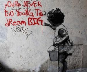Dream, art, and street art image
