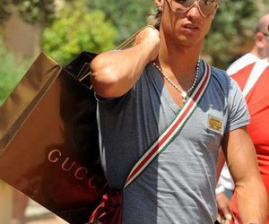 cristiano ronaldo, gay, and gucci image