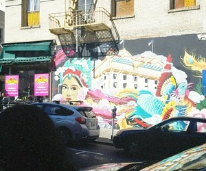 chinatown, sf, and wall art image