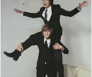 kim hyun joong, ss501, and friends image