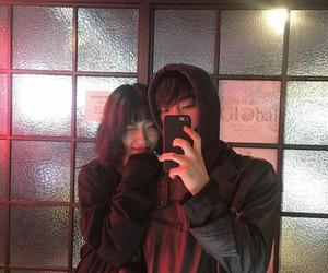 ulzzang, couple, and korean image