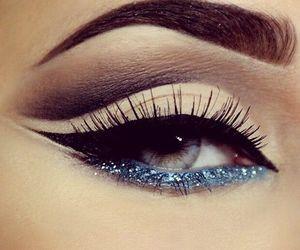 eye shadow, lip stick, and fashion image