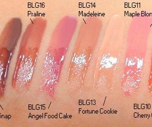 makeup, butter gloss, and NYX image