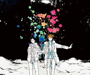 anime, hq, and manga image