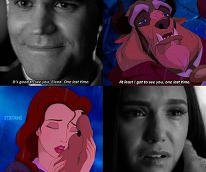 beauty and the beast, series, and the vampire diaries image