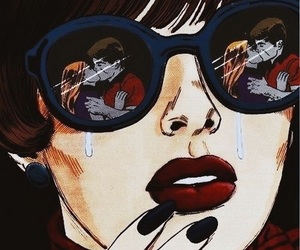 sad, cry, and art image