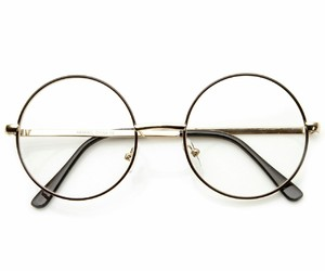 fashion, glasses, and round frames image