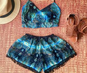 bikini, dress, and dresses image