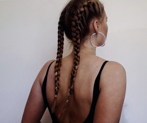 backless, black, and braids image