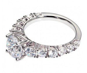 silver rings, sterling silver rings, and silver rings for women image