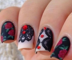 inspiration, nails, and nails art image