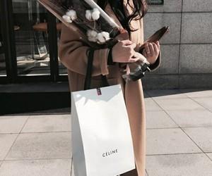 fashion, flowers, and celine image