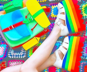 colorful, 海外, and fashion image