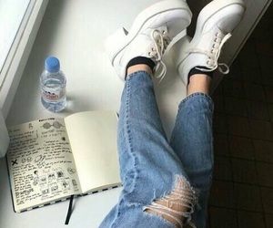 aesthetic, tumblr, and jeans image