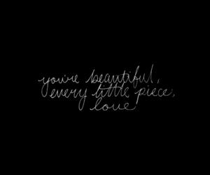 black, handwritten, and Lyrics image