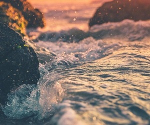 travel, waves, and nature image