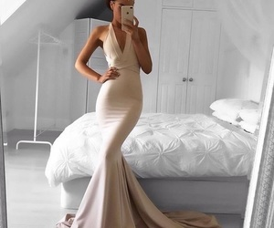 beauty, Prom, and dress image