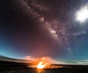 night, nature, and stars image