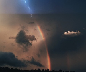 lightning, weather, and nature image