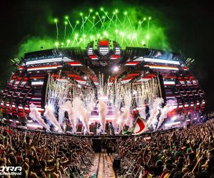 festival, fireworks, and lights image