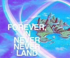 forever, in, and land image