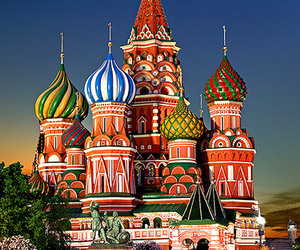 russia, Saint Basil's Cathedral, and travel image