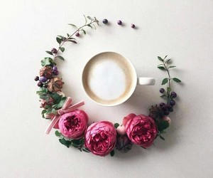 cup, pink, and white image