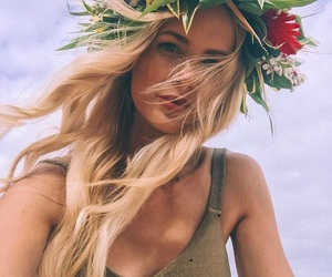 beach, hairstyle, and blogger image