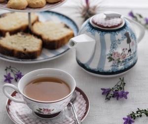 food, sweet, and tea image