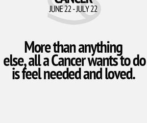 cancer, zodiac, and true image