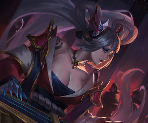 league of legends and sona image