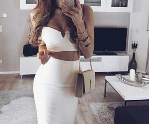 accessories, white, and fashion image