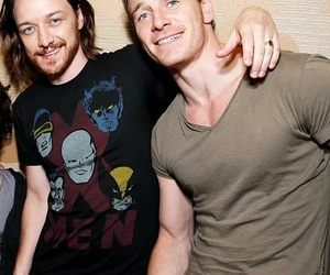 james mcavoy, mcavoy, and michael fassbender image