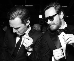 benedict cumberbatch, michael fassbender, and tom hiddleston image