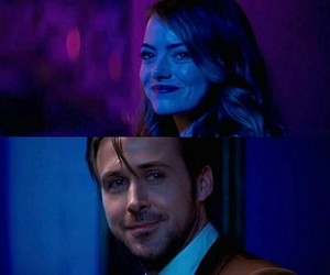 la la land, love, and eyes image