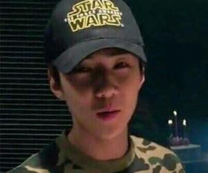 exo, sehun, and dark image