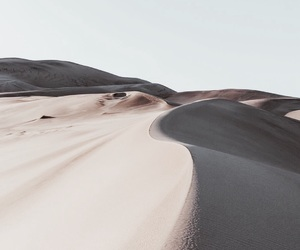 desert, nature, and sand image