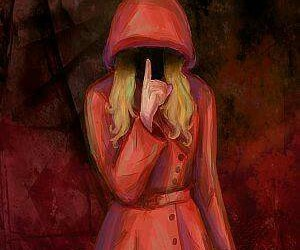 pretty little liars, pll, and red coat image