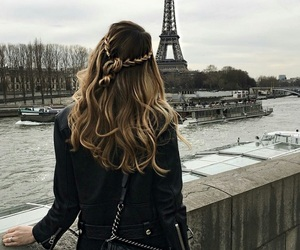boats, chanel, and eiffel tower image