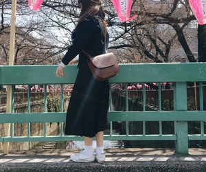 fashion, japanese, and 桜 image